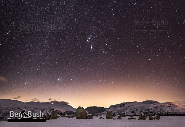 Orion over Castlerigg